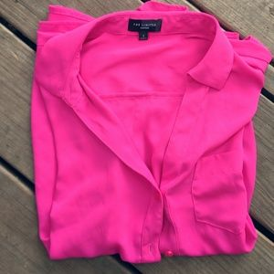 Pink Buttoned-Down Shirt